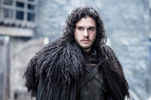 Osrednji lik serije Game of thrones Jon Snow