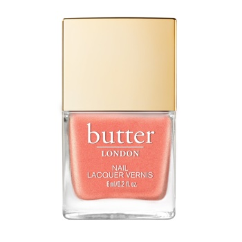 Lak Butter London, LIVING CORAL PATENT SHINE.