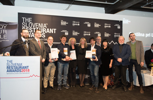 """THE SLOVENIA RESTAURANT AWARDS"
