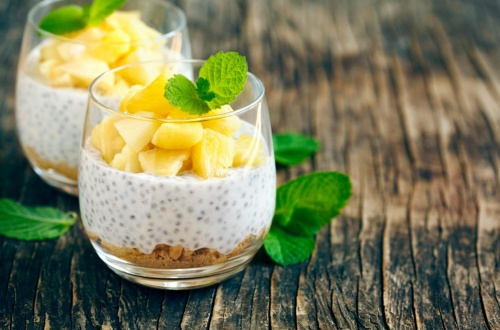 Chia puding.