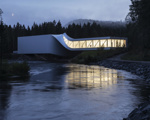 Most muzej The Twist na Norveškem. Foto: Dezeen, Arch Daily
