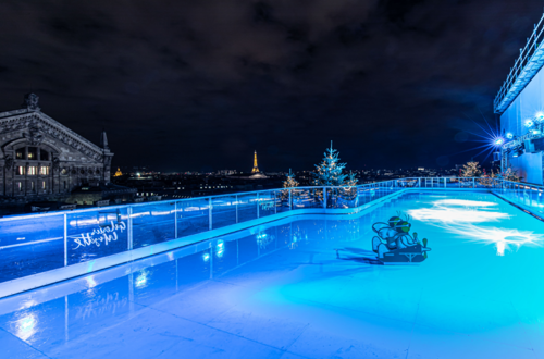 rooftop ice rink